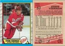 25 Assorted Steve Yzerman Hockey Cards In Collectors Display Album