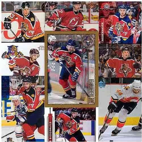 Anaheim Mighty Ducks Rob Niedermayer 20 Card Set