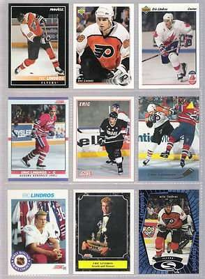 Eric Lindros 20 Card Player Set