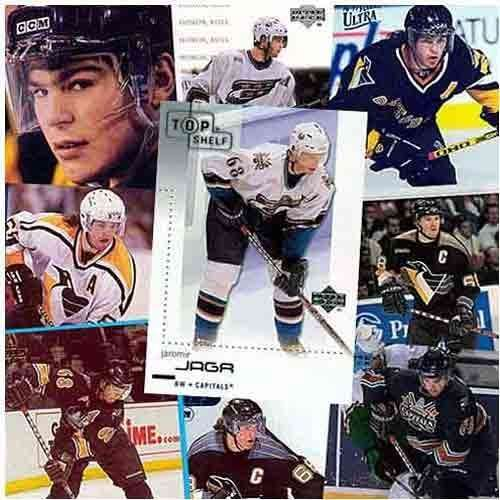 Jaromir Jagr 20 Card Player Set