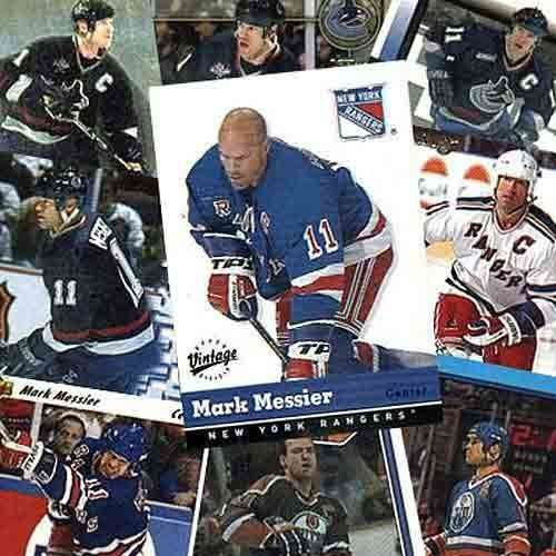 Mark Messier 20 Card Player Set