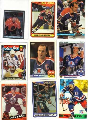Mark Messier Hockey Card Lot