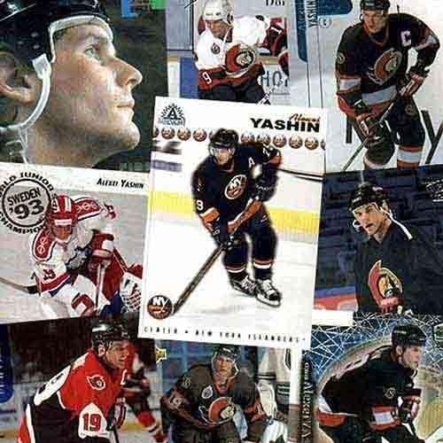 New York Islanders Alexei Yashin 20 Card Set