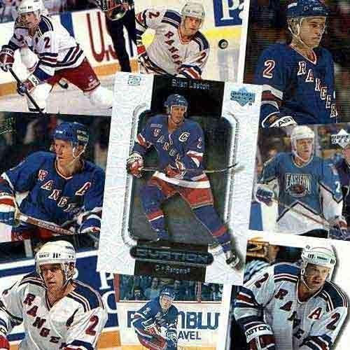 NHL Brian Leetch 20 Card Set