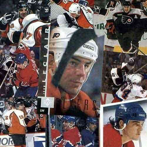 NHL John LeClair 20 Card Set