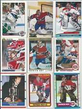 Patrick Roy 20 Card Set In Collectors Display Album