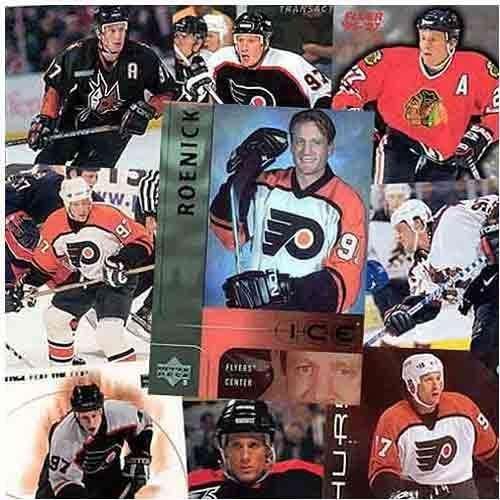 Philadelphia Flyers Jeremy Roenick 20 Card Player Set