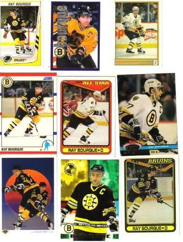 Ray Bourque Boston Bruins Hockey Card Lot