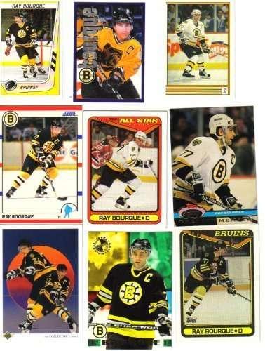 Ray Bourque Boston Bruins Hockey Card Lot
