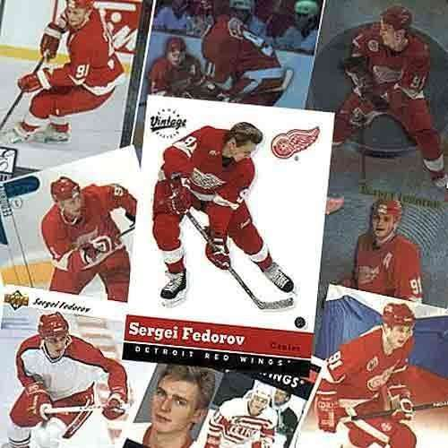 Sergei Federov 20 Card Player Set