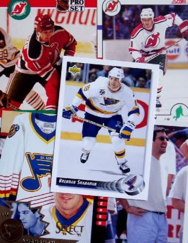 Brendan Shanahan 20-card set with 2-piece acrylic case