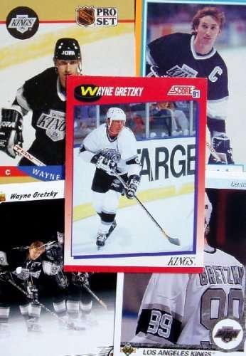 Wayne Gretzky 20-card set with 2-piece acrylic case [Misc.]