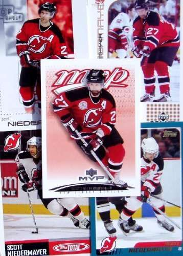 Scott Niedermayer 20-card set with 2-piece acrylic case