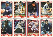 New York Yankees 1990 Fleer Baseball Card Team Set (23 Cards)