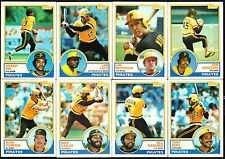 1983 Topps Pittsburg Pirates Team Set (27 Cards)