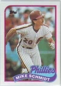 1989 Philadelphia Phillies Topps Team Set
