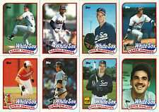1989 Topps Chicago White Sox Team Set