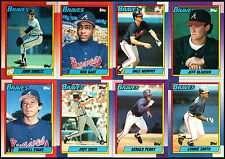 1990 Topps Atlanta Braves Team Set