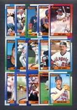 1990 Topps California Angels Team Set