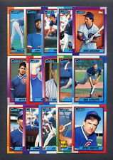 1990 Topps Chicago Cubs Team Set