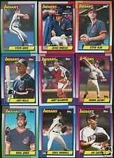 1990 Topps Cleveland Indians Team Set
