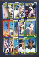 1990 Topps Los Angeles Dodgers Team Set