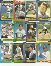1990 Topps Milwaukee Brewers Team Set