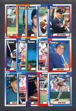 1990 Topps Minnesota Twins Team Set