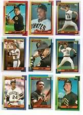 1990 Topps Pittsburg Pirates Team Set