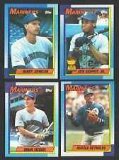 1990 Topps Seattle Mariners Team Set (Griffey Jr... All Star Rookie)