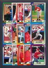 1990 Topps St. Louis Cardinals Team Set