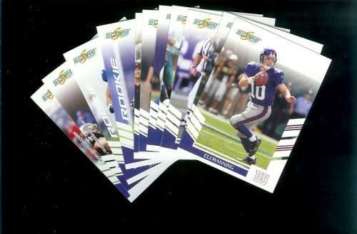2007 Score New York Giants Team Set of 11 cards - Includes Eli Manning, Jeremy Shockey, Brandon Jacobs and more -Shipped In Protective Storage Box!