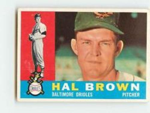 1960 Topps #89 Hal Brown EX++ 60/40