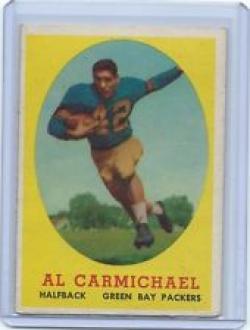 1958 Topps Al Carmichael Card #31