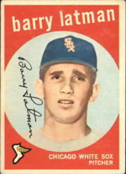 1959 Topps #477 Barry Latman EX - Excellent or Better [Misc.]