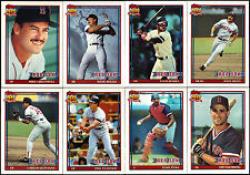 1991 Red Sox Team Set #  NM-MT 50/50!
