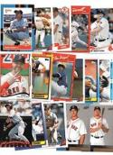 Boston Red Sox Baseball Gift Lot of 100 Cards Including Manny Ramirez, David Ortiz, & More !!