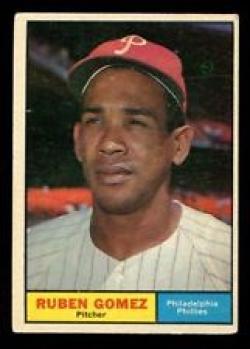 1961 Topps #377 Ruben Gomez NR. MINT