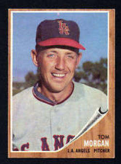 1962 Topps #11 Tom Morgan EX - Excellent or Better