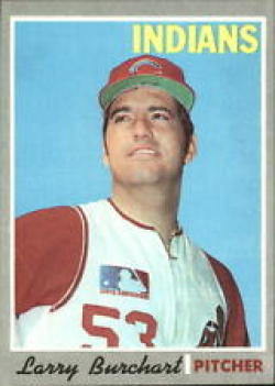 1970 Topps #412 Larry Burchart Excellent +