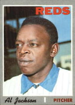 1970 Topps #443 Al Jackson Excellent +