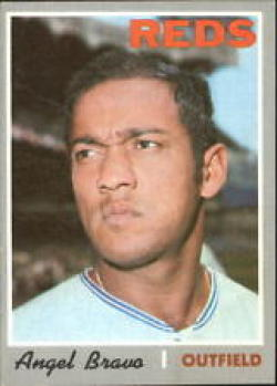 1970 Topps #283 Angel Bravo Excellent + RC Rookie