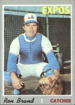 1970 Topps #221 Ron Brand Excellent +