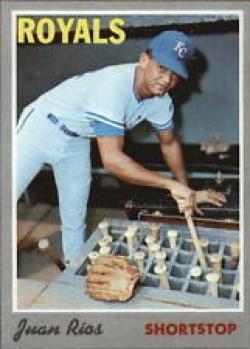 1970 Topps #89 Juan Rios Excellent +
