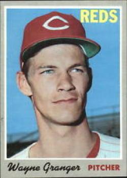 1970 Topps #73 Wayne Granger Excellent +