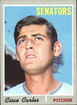1970 Topps #487 Cisco Carlos Nr. Mint