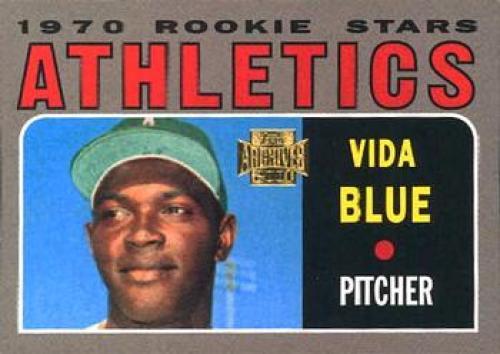 Bases Loaded Baseball Cards Item 342764 Vida Blue 2001 Topps