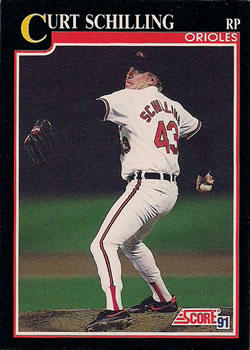 25 Different Curt Schilling Baseball Cards - Mint Condition!!