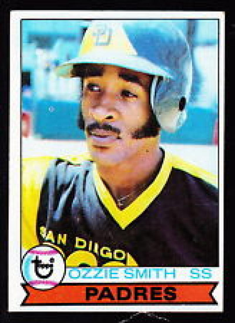 Ozzie Smith 1979 Topps Rookie Baseball Card #116