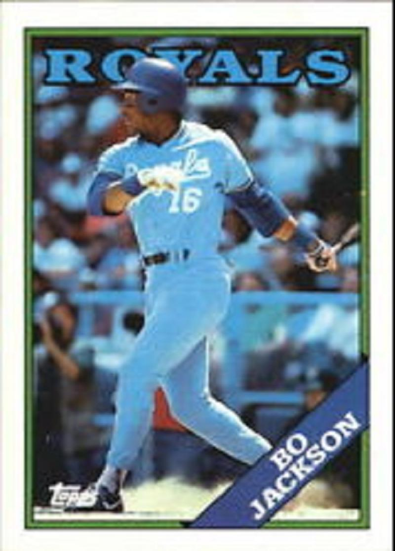 1988 topps Topps #750 Bo jackson NM-MT Close TO 50/50!